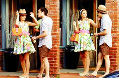 Chuck and Blair summer hat