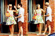Chuck and Blair summer hat