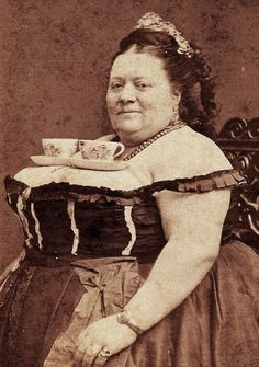 one of the only reasons i should have been born in the 19th century. i would have rocked this teacup attire.