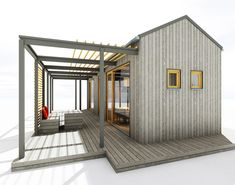 Container Shop, Tiny House, Pergola, Shed, Villa, Outdoor Structures, House Design, Home, Inspiration