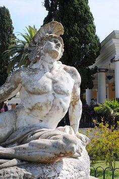 Achilles by miekkakala, Achilleion Palace - Corfu Island, Greece