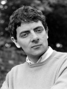 young Rowan Atkinson