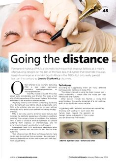 Get Your Jan/Feb '14 Issue of Pro Beauty Magazine RIGHT NOW! .. And Read About Us Inside!  You can read all these articles on our blog, just click on the link below: http://www.pmutech.co.za/permanent-makeup/entry/in-the-media-this-month.html  www.pmutech.co.za    Permanent Makeup Technology and Permanent Makeup Training  #Work #LovingIt