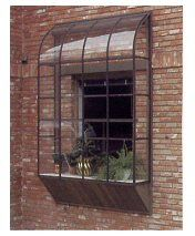 ♕ yet another option, a BAYVIEW GREENHOUSE WINDOW KIT ~ heating and cooling is provided by the house, and there are many different sizes and colors available