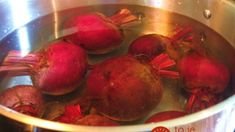Cooking and Freezing Beets Freezing Beets, Freezing Vegetables, Frozen Vegetables, How To Store Beets, How To Boil Beets, How To Freeze Beets, Kombucha, Storing Fruit, Diet