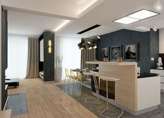 Projekt domu Karat 2 162,51 m² - koszt budowy - EXTRADOM Modern Family House, Modern House Design, Basement Bar Designs, Mediterranean Style Homes, Facade House, Bungalow, House Plans, Construction, Villa
