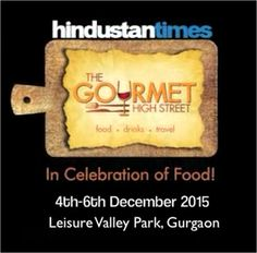 Don't miss out our Executive Chef Tanveer Kwatra's masterclass at Gourmet High Street Food Festival from 4th to 6th December 2015.  youtu.be/z4cpXSxWbHo   ‪#‎LMGurgaon‬