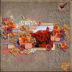 kimeric kreations: Early Autumn Splendor - new this week! and TWO freebies :)