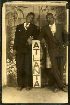 Vintage African American photography courtesy of Black History Album, The Way We Were.