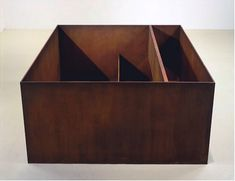 Donald Judd - New York - Untitled, cor-ten steel 1989