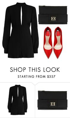 """Untitled #4013"" by evalentina92 ❤ liked on Polyvore featuring Zimmermann and ESCADA"