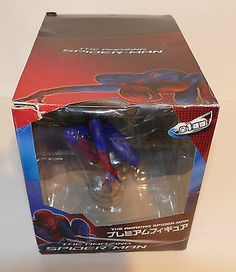 The amazing #spider-man #action #figure made by sega prize from japan bnib,  View more on the LINK: http://www.zeppy.io/product/gb/2/122145267738/