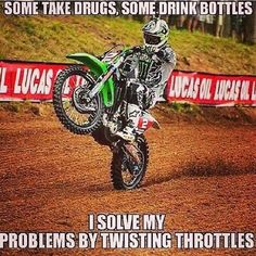 Dirtbikes Fahrrad Offroad And Motocross Dirtbike Memes, Motocross Quotes, Dirt Bike Quotes, Biker Quotes, Motocross Funny, Motorcross Bike, Motocross Girls, Hyabusa Motorcycle, Racing Quotes