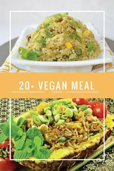 20+ Vegan Meal Ideas