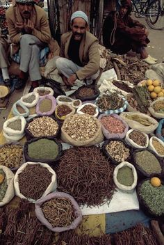 Marrakech.Spices salesman