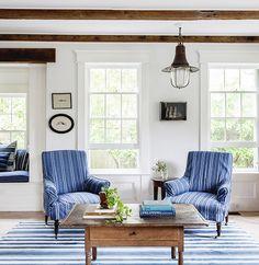 Mark and Blythe Harris's Sag Harbor Cottage designed by Elizabeth Cooper