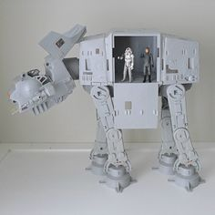 Vintage AT-AT with 2 Action Figures