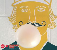 Show us your bubbles! Get a pack of Big League Chew with every Left Field Cards order.