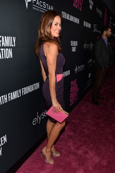 Brooke Burke-Charvet Photos: Elyse Walker Presents The Pink Party 2013 Hosted By Anne Hathaway - Red Carpet
