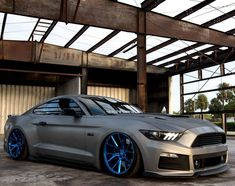 Bad-ass Ford Mustang