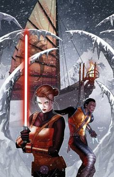 Star Wars: Lost Tribe of the Sith 1: Spiral, Part 1 cover art by Paul Renaud