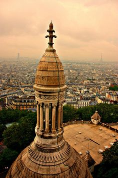 paris from sacre couer by Andy Watson