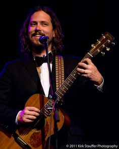 John Paul White from The Civil Wars.  I'm a little obsessed with him.