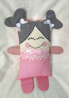 Sewing Toys For Kids Patterns Baby Gifts 64 Ideas - Tiere und Puppen nähen - Babybaby web Sewing Stuffed Animals, Stuffed Toys Patterns, Kids Patterns, Doll Patterns, Sewing Patterns, Fabric Toys, Fabric Crafts, Fabric Sewing, Baby Toys