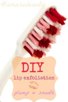 DIY Lip Exfoliation & Lip Plumping Bonus