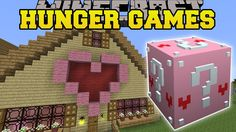 Minecraft: GAMINGWITHJEN'S HOUSE HUNGER GAMES - Lucky Block Mod - Modded...