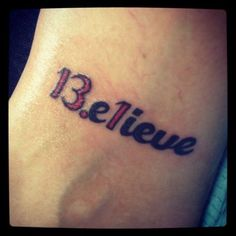 ... marathon tattoo. Because I