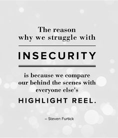 Insecurity u2013 Best Inspirational Quote