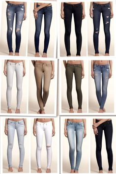 Hollister jeans are the jeans that fit me best I love them