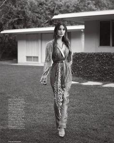 Lana Del Rey for Elle UK by Thomas Whiteside