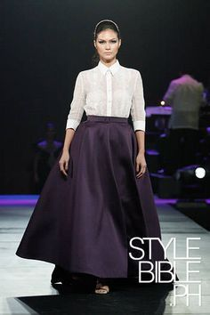 women's barong, classic by JC Buendia