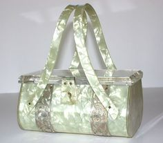 Lemonade lucite purse by Patricia of Miami