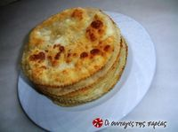 For lovers of Cretan cuisine and beyond. What we need: For the dough pound of flour cup raki or ouzo 2 tablespoons. Greek Appetizers, Greek Desserts, Small Desserts, Greek Recipes, Greek Cooking, Cooking Time, Cooking Recipes, Greek Pita Bread, Eat Greek