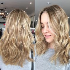 ✖️winter blonde✖️ created more balance and a less block blonde on @rachmorrison by doing fine light foils and alternating with a soft lowlight. Fresh soft layered haircut to finish. @bixiecolour #teambixie #blonde #winterhair #olaplex #olaplexblondes #creamyblondes #blondes