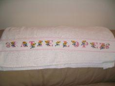 toalla para mi hija Katie