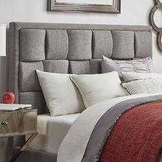 Porter Linen Woven Upholstered Headboard by Tribecca Home