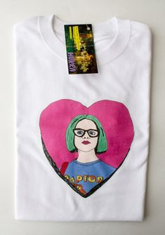 Enid t-shirt / Illustrated unisex t-shirt / Ghost World Tee Ghost World, Festival T Shirts, Movie Tees, Best Wear, Sofia Coppola, Casual Tops, Long Sleeve Tops, Etsy, My Style