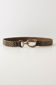 Belt for the green dress. Brown or gold.