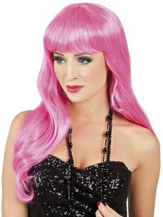 Which means it's time to get your fancy dress wigs and costumes ready for action. At Super Party Wigs we stock a huge range of cheap wigs, guaranteed to make your party outfit 'po Princess Bubblegum Cosplay, Costume Wigs, Costumes, Fancy Dress Wigs, Halloween Wigs, Cheap Wigs, Pink Wig, Super Party, Nerd Stuff