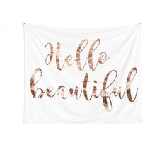 $40.08 wall tapestry rose gold