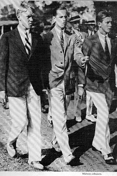 Class never goes out of style!!! 1920's menswear!