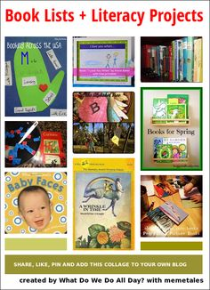 Book Lists + Literacy Projects