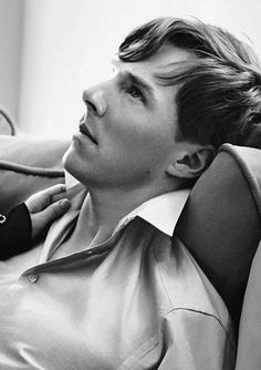 oh, hi there Benedict Cumberbatch as a male model.