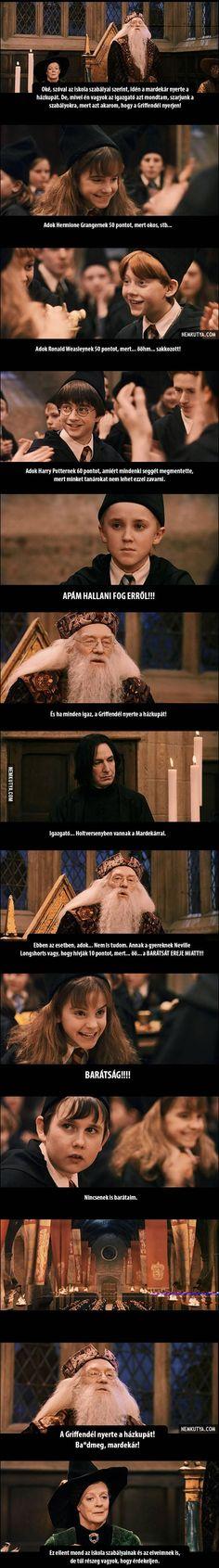 Dumbledore és az év zárása a Roxfortban - NEMKUTYA