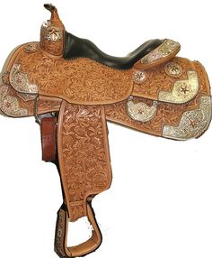 Silver Mesa Crystal Star Saddle - will someone buy this for me?? LOL!