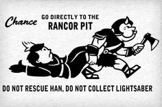 Go Directly To The Rancor Pit - Do Not Rescue Han, Do Not Collect Lightsaber